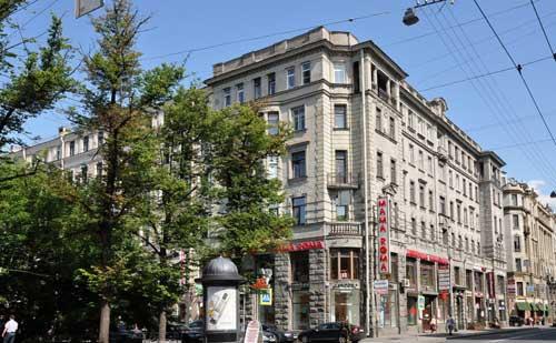 Отель на Большом проспекте Петроградской стороны